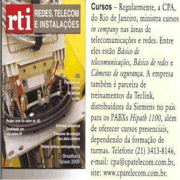 Revista RTI No.115 - Dezembro/2009
